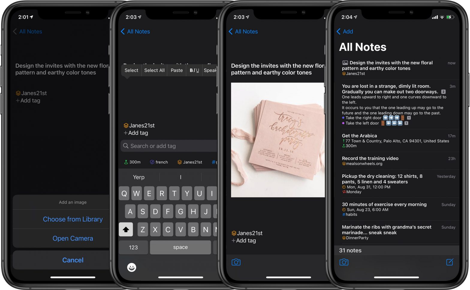 North Notes - How to add images to your notes